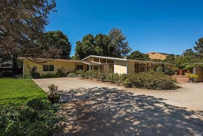 Single Family Home For Sale: 2373 Novato Boulevard