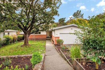 Marin County Single Family Home For Sale: 551 Midway Boulevard