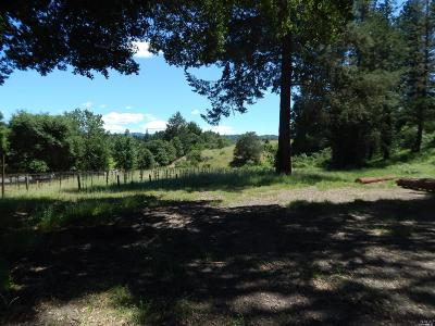 Calistoga Residential Lots & Land For Sale: 8341 Franz Valley Road