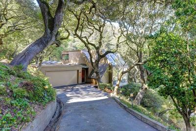 Sausalito Single Family Home For Sale: 12 Toyon Court