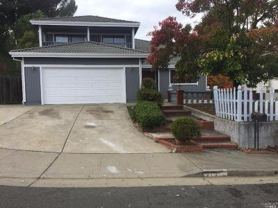 Vallejo Single Family Home For Sale: 117 Skyline Court