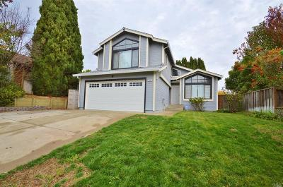 Vallejo Single Family Home For Sale: 116 Nautilus Drive