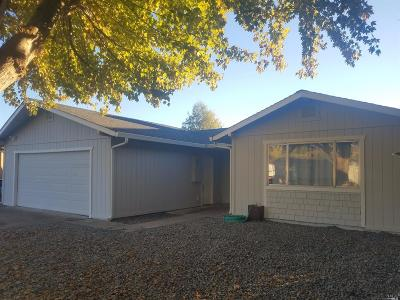 Clearlake Single Family Home For Sale: 12941 Keys Boulevard