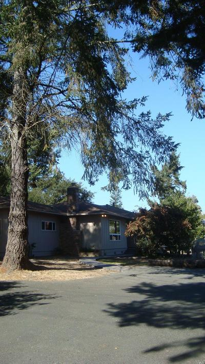 Sebastopol Single Family Home For Sale: 700 Pleasant Hill Road