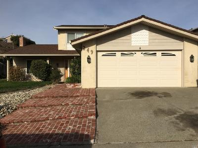 Benicia CA Single Family Home For Sale: $589,000