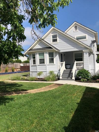 Napa Single Family Home For Sale: 2588 Redwood Road