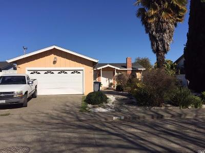 Vallejo CA Single Family Home For Sale: $349,500