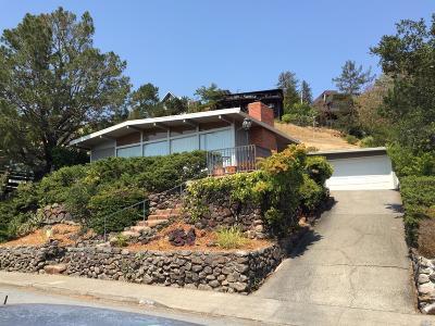 San Rafael Single Family Home For Sale: 15 Windsor Avenue