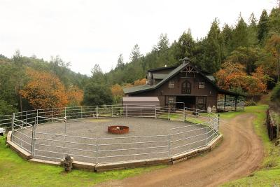 Healdsburg Farm & Ranch For Sale: 5635 Sweetwater Springs Road