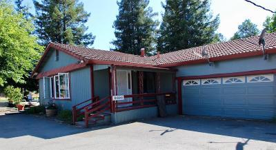 Santa Rosa Farm & Ranch For Sale: 6698 Petaluma Hill Road