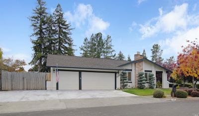 Napa County Single Family Home For Sale: 3385 Covey Court