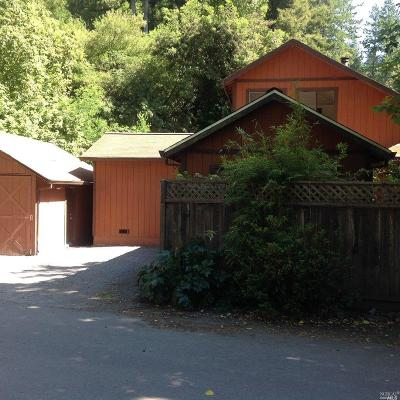 Sonoma County Rental For Rent: 20055 River Boulevard