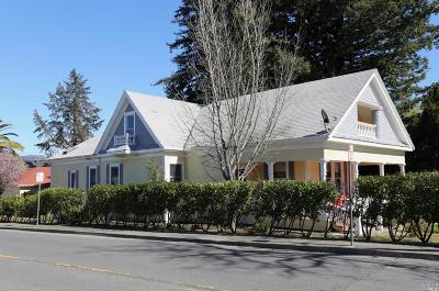 St. Helena Single Family Home For Sale: 1570 Main Street