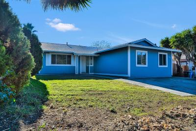 Vallejo Single Family Home For Sale: 301 Linfield Drive