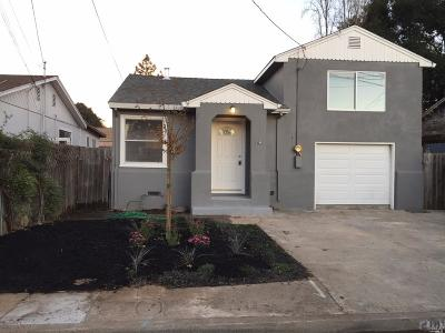 Napa CA Single Family Home For Sale: $499,900