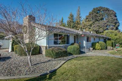 Napa Single Family Home For Sale: 1103 Larkin Way