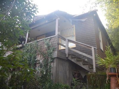 San Anselmo CA Single Family Home For Sale: $199,000