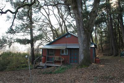 Covelo Single Family Home For Sale: 22420 Henderson Lane
