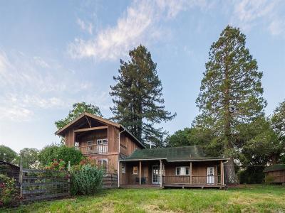 Sebastopol Single Family Home For Sale: 4650 Thomas Road