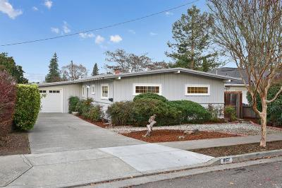 Petaluma Single Family Home For Sale: 867 6th Street