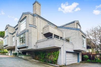 Mill Valley Condo/Townhouse For Sale: 65 Lovell Avenue #B