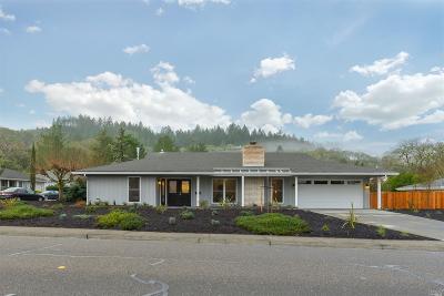 Santa Rosa Single Family Home For Sale: 6960 Oakmont Drive