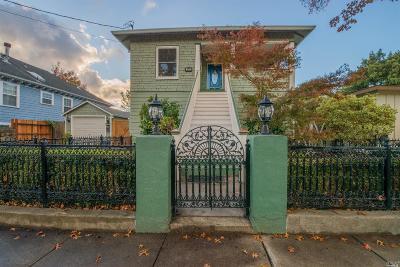 Napa Multi Family 2-4 For Sale: 519 Seymour Street