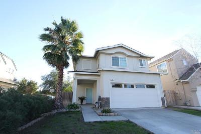 Vacaville CA Single Family Home For Sale: $424,500