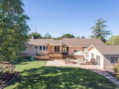 Single Family Home For Sale: 9740 Old Redwood Highway