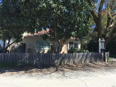 Ukiah Single Family Home For Sale: 4 Lorraine Street