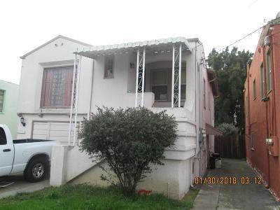 Vallejo Multi Family 2-4 For Sale: 326 Wallace Avenue