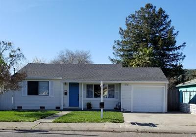 Napa Single Family Home For Sale: 2709 Kilburn Avenue