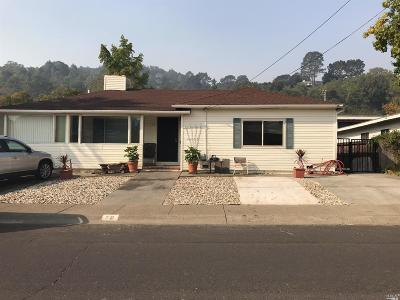 Marin County Single Family Home For Sale: 79 Billou Street