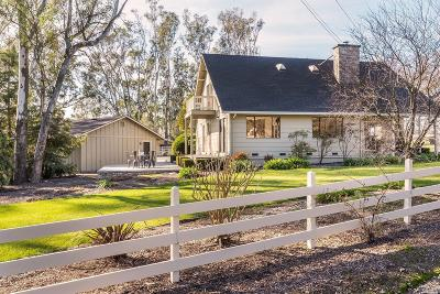 Sonoma Single Family Home For Sale: 21825 Pearson Avenue