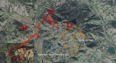 Napa Residential Lots & Land For Sale: Quail Ridge Road