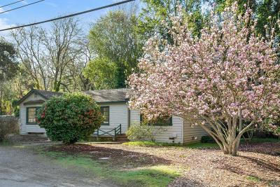 Forest Knolls Single Family Home For Sale: 33 Castro Street