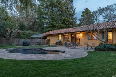Napa Single Family Home For Sale: 1145 Olive Hill Lane