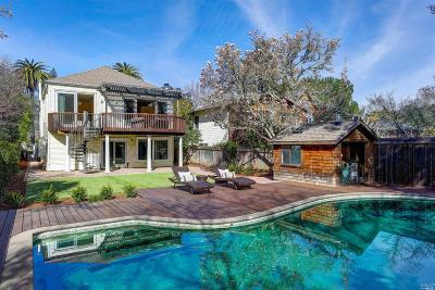 Ross Single Family Home For Sale: 61 Bolinas Avenue