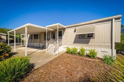 Sonoma Mobile Home For Sale: 243 East Seven Flags Circle #243