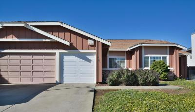Vallejo Single Family Home Contingent-Show: 251 Darley Drive