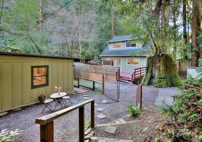 Marin County Single Family Home For Sale: 7391 Sir Francis Drake Boulevard
