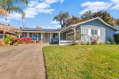 Vallejo Single Family Home For Sale: 1480 Delwood Street