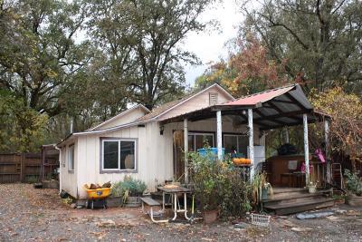 Covelo Single Family Home For Sale: 24468 Shady Lane