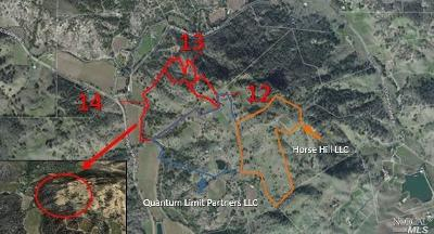 Napa Residential Lots & Land For Sale: Quail Ridge Road