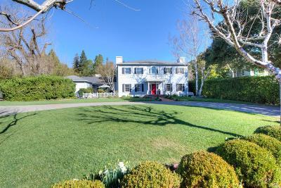 San Anselmo CA Single Family Home For Sale: $3,315,000