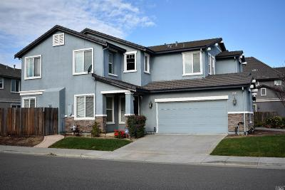 Fairfield CA Single Family Home For Sale: $425,000
