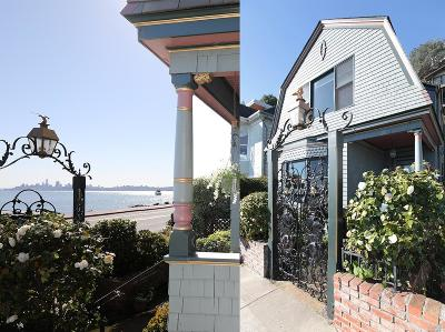 Sausalito Single Family Home For Sale: 493 Bridgeway Boulevard