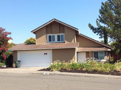 Vallejo Single Family Home For Sale: 500 Evelyn Circle