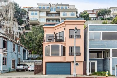 Sausalito Multi Family 2-4 For Sale: 513 Bridgeway Boulevard