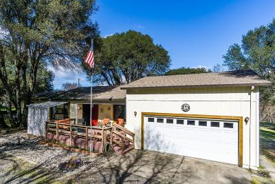 Redwood Valley CA Single Family Home For Sale: $499,000